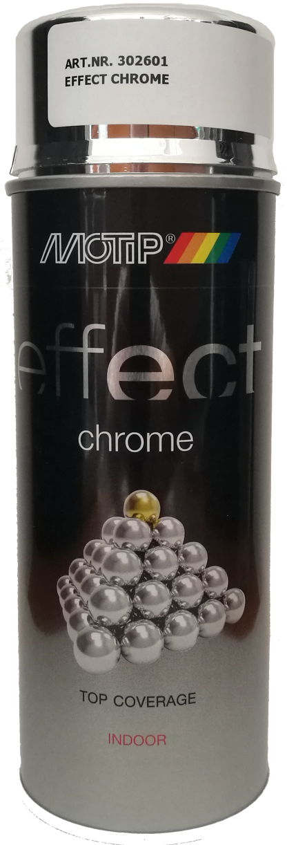 302601 MOTIP DECO EFFECT króm spray