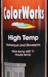918550 ColorWorks hőálló fekete festék spray