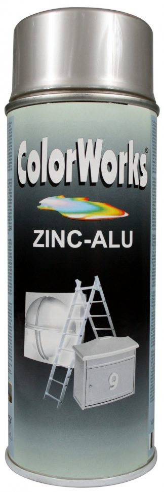 918576 ColorWorks Alu-Cink spray 400ml