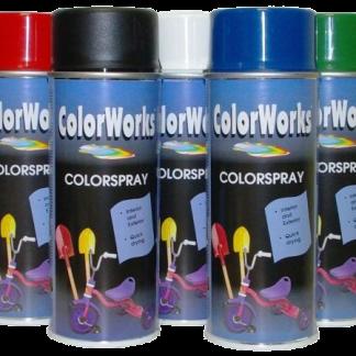 Color Works festék spray termékcsalád