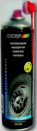 MOTIP Feketeolaj spray